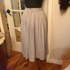 Uniqlo maxi skirt with pockets size S
